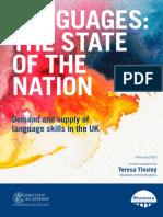 Tinsley(2013) Languages State of Nation(UK)