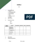 Formato Para La Elaboración de Charlas (2)