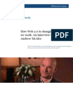 How Web 2.0 is changing the way we work