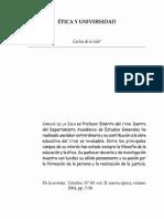 Etica y Universidad 25-01-2014(1)
