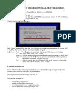 Instalasi DNS Server & Mail Server Zimbra