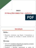 Aula Teorica 4 - Fundacoes Directas
