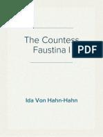 Ida Von Hahn-Hahn - The Countess Faustina I