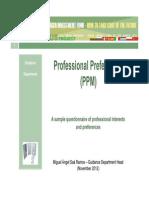 Professional Preferences v.02