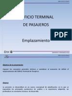 Edificio Terminal - Emplazamiento