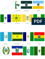 Banderas y Trajes de Los Departamentos
