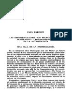 Rabinow  las representaciones son hechos sociales.pdf