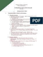 Desarrollo de La Teologia AsdCHIS_674 Lecture_Outline SP