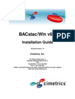 Cimetrics BacStac V6.0 Manual