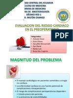 Evaluación Del Riesgo Cardiaco en El Preopeatorio 1