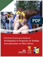 Atuação Dasos Psicólogasos Em Programas de Medidas Socioeducativas Em Meio Aberto