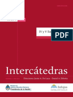 Libro Intercátedras II