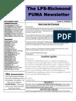 Puma News Dec 2009