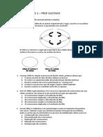 Exercícios de Núcleo e Divisão Celular