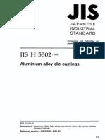 JIS H5302 2000 Japanese Industrial Standard