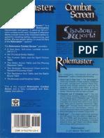 Rolemaster - Combat Screen