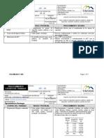 Pet de Prueba Work Index