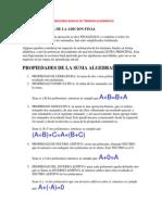4 Operaciones Basicas de Terminos Algebraicos