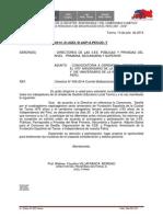 OFICIO Y BASES PARA EL CONCURSO DE DESFILE DEL 28 DE JULIO