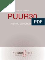 Puur30 e-book