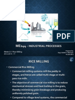 Lecture Rice Milling