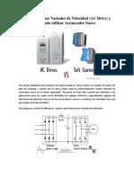 VFD vs SoftStarter