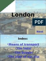 Prezentacja Londyn