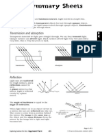 8K Light Summary Sheets