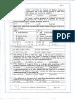 Isro Question Paper