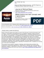 Alasuutari 2011 - Modernization as a Tacit Concept