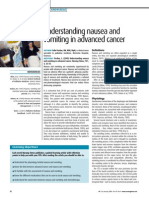 050125understanding Nausea and Vomiting in Advanced Cancer
