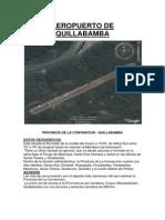 Aeropuerto de Quillabamba