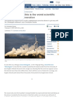 Climate Change - This is the Worst Scientific Scandal of Our Generation
