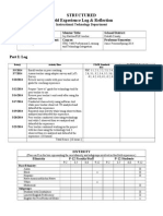 t  tidwell itec 7460 coaching structured field experience log
