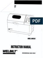 Welbilt ABM 2H22 Manual