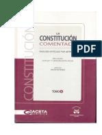 Tomo II Constitucion Comentada