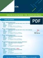 Calendario de Inicios DAT - Junio y Julio