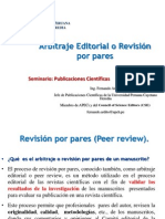 5 Arbitraje Editorial o Revision Por Pares
