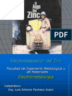 "Electrodeposiciã""n Zn"