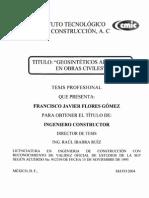 Geosintetico Aplicado en Obras Civiles