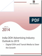 India OOH Advertising Industry Research Report