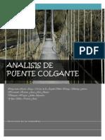Analisis de Puente - Resistencia de Materiales 1