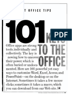 101 Keys to the Office (Microsoft Office Tips)