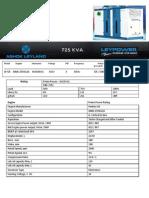 725 KVA Leaflet