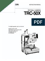 Topcon Trc-50x Instruction Manual