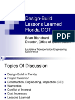 Design-Build in Florida-Lesssons Learned