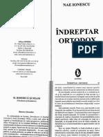 NAE IONESCU-Indreptar Ortodox (fragment)