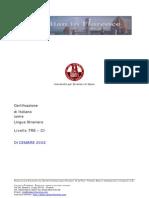 Quaderni CILS C1 Dicembre 2002