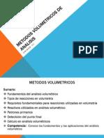 Metodos Volumetricos de Analisis