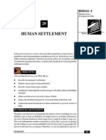 Human Settlement